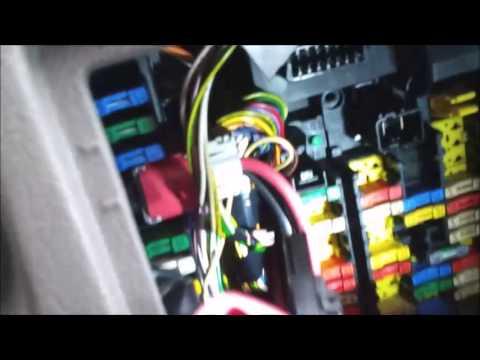 Auto Fuse Box Diagram Citroen Picasso Heater Blower Fix Youtube