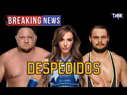 Llueven los Despidos de la WWE en 2021 Samoa Joe y Peyton Royce entre otros
