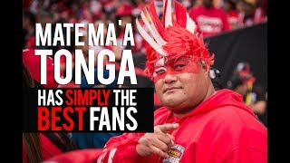 MATE MAA TONGA Simply The BEST FANS!