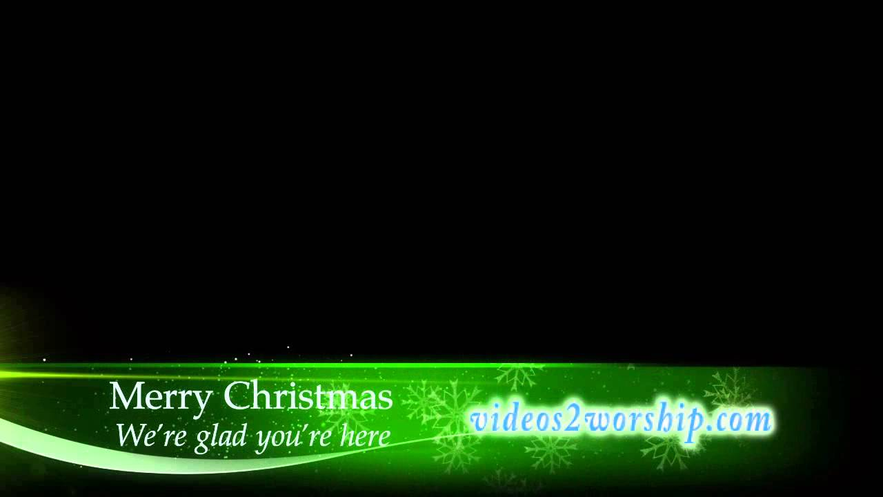 free lower third templates motion - christmas ttitle motion lower thirds youtube