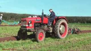 Ploughing Match Clips.  Vintage Tractors and Ploughs at work.