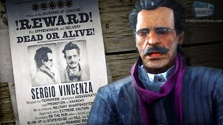Red Dead Online Legendary Bounty #4 - Sergio Vincenza (5-Star Difficulty - Solo)