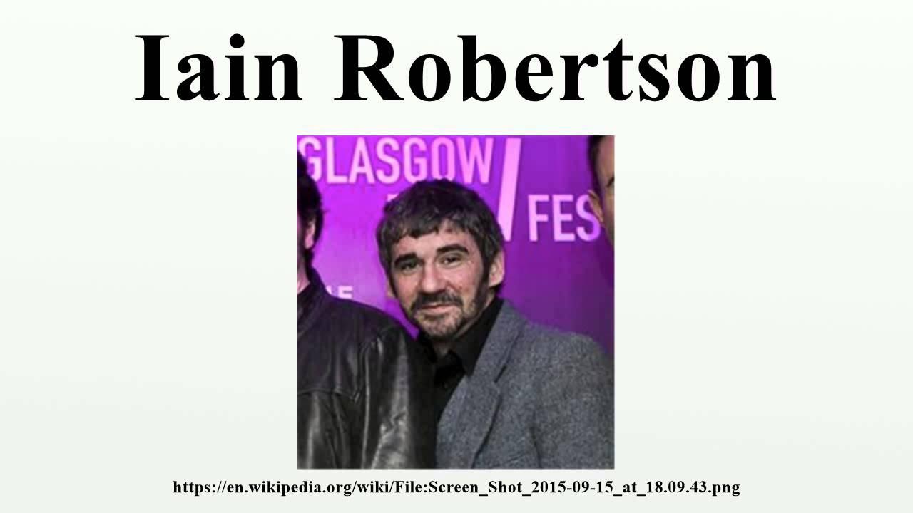 foto Iain Robertson (born 1981)