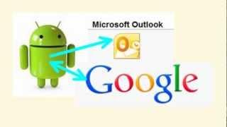 Часть №1 Google Контакты. Синхронизация КОНТАКТОВ: Google-Android-Outlook.