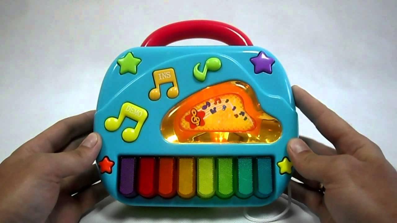 Детское пианино с микрофоном. Игровой набор / Children's piano .