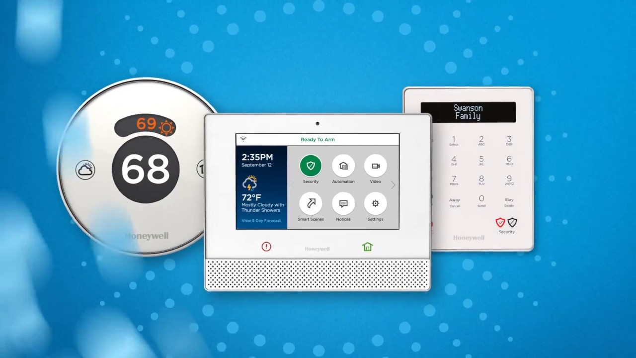 Honeywell Lyric - Home Security and Smart Home Integration