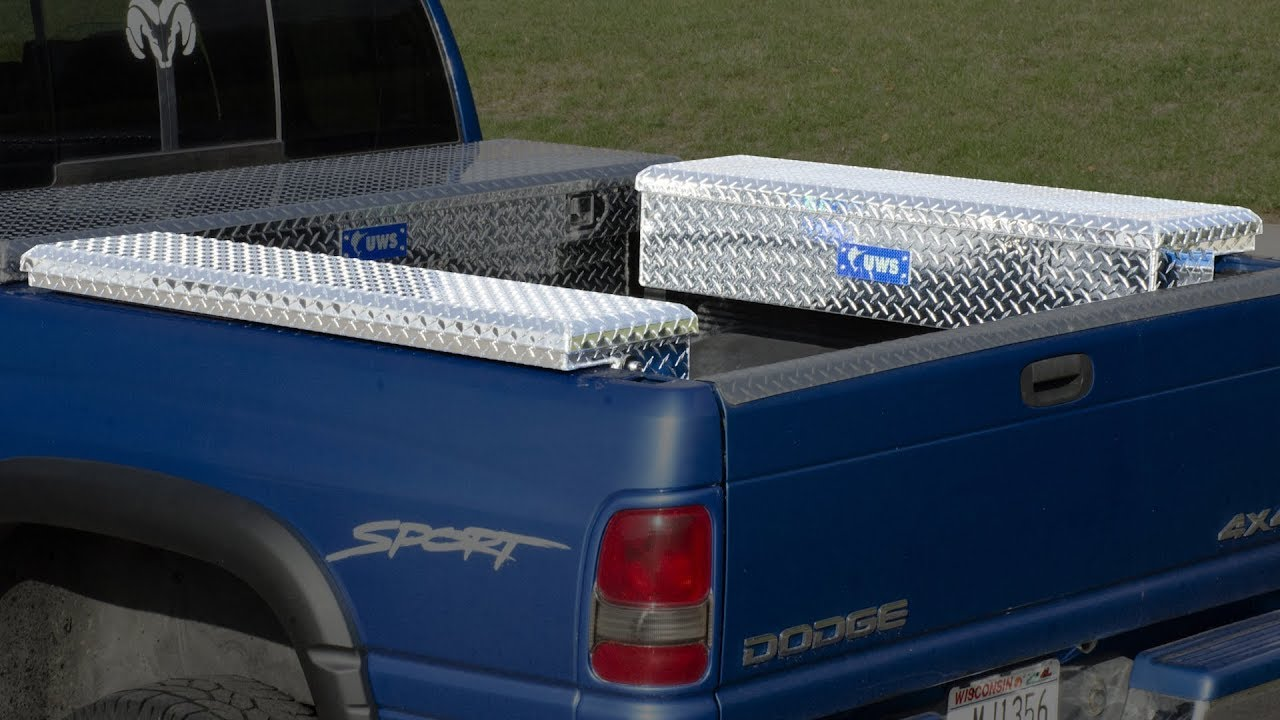 Low Profile Truck Side Tool Boxes From Uws The Engine Block