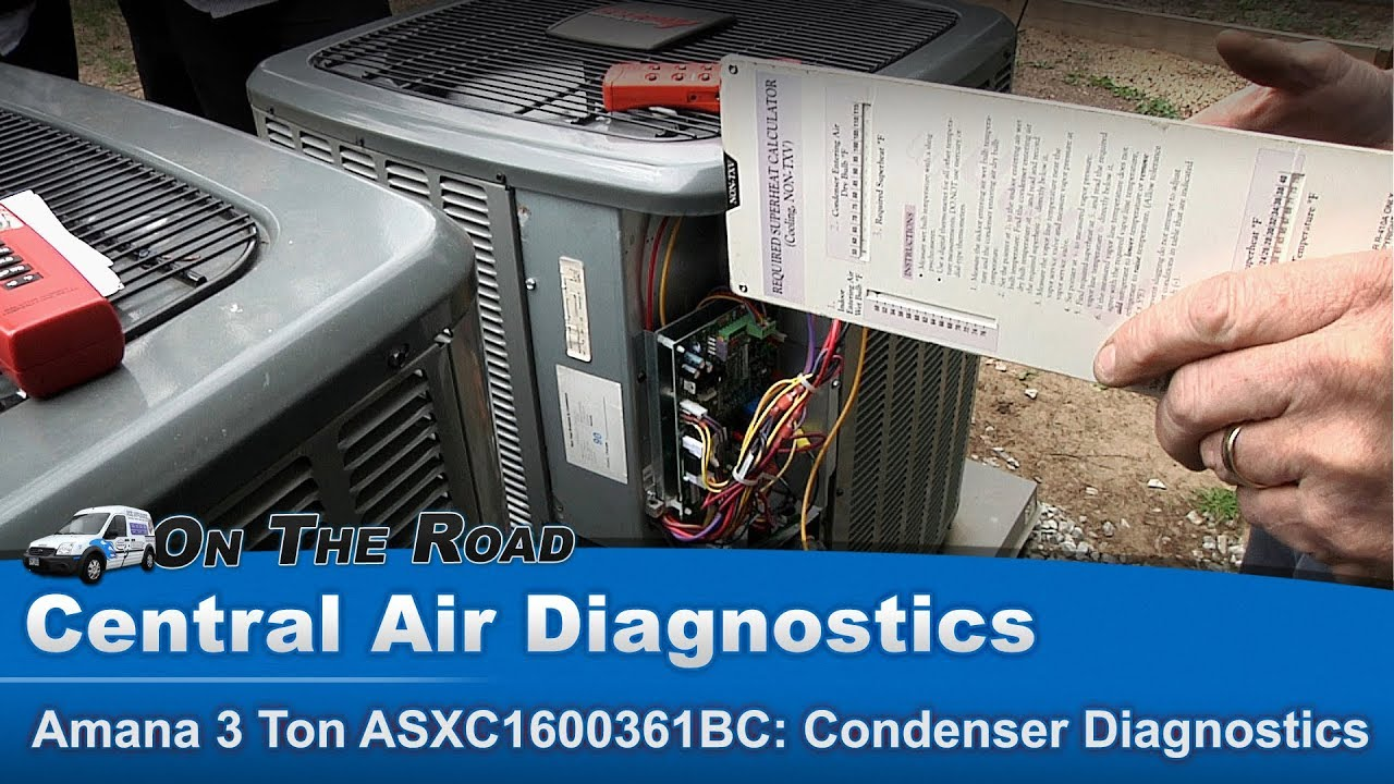 Lennox Air Conditioning >> Central Air Conditioning Diagnostics & Repairs - YouTube