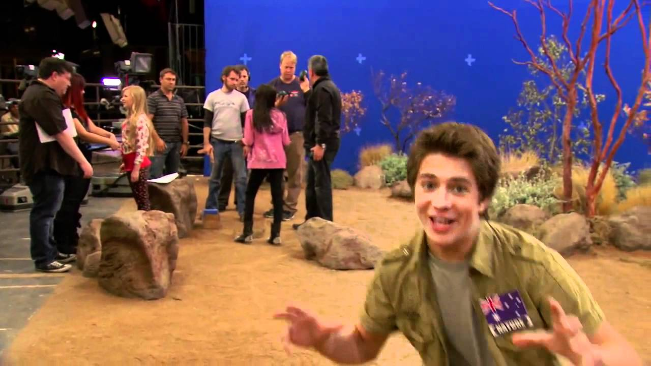 Billy Unger Behind The Scenes Of Ant Farm Youtube