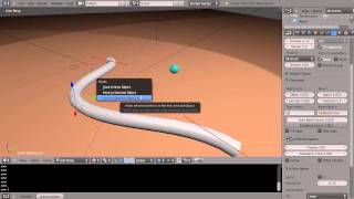 Blender Tutorial - Powerful Curve Control with Hooks