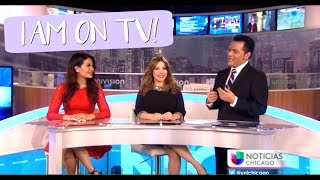 Linda Belinda En Univision Chicago | I'm On TV!! | BelindasLife