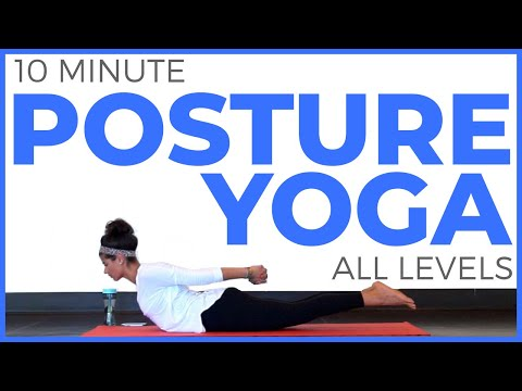 10 Minute Yoga for Posture (All Levels)
