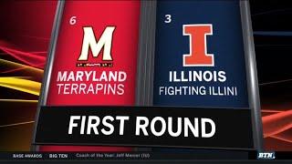 Highlights: #3 Illinois Upset by #6 Maryland | 2019 B1G Baseball Tournament thumbnail