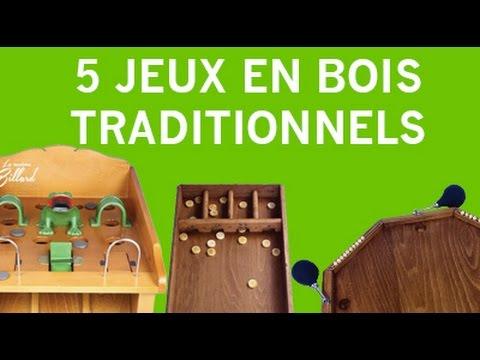 5 jeux en bois traditionnels et historiques youtube. Black Bedroom Furniture Sets. Home Design Ideas