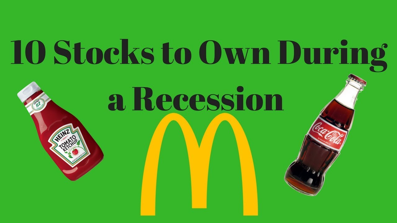 Top 10 Recession Proof Stocks Youtube