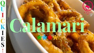Quick Fried Calamari Recipe | QUICKIES