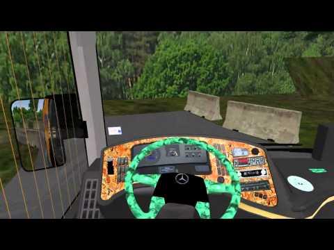 Omsi Mercedes 0-403 Yol Tutuş Fren Ve Dayanıklılık Testi