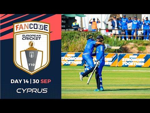 🔴 FanCode European Cricket T10 Cyprus,  Limassol | Day 14 T10 Live Cricket