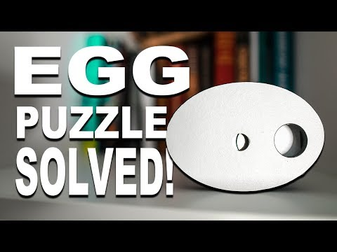 Solving The IMPOSSIBLE EGG Puzzle!!