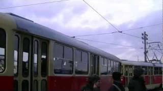 Dresden alte Tatra Straßenbahn - full HD