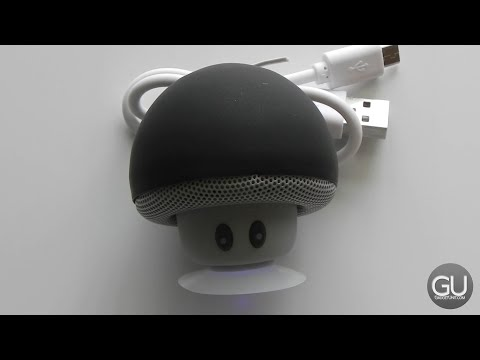 [Review] Mini Mushroom Bluetooth Speaker