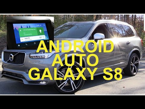 volvo xc90 drive android auto 2016 2017 samsung t5 t6 r. Black Bedroom Furniture Sets. Home Design Ideas