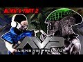 Alien and Sub-zero Play Alien vs Predator part 2! - MK PARODY!