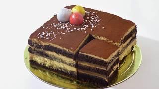 Шоколадно кофейный торт. Chocolate Coffee Cake.