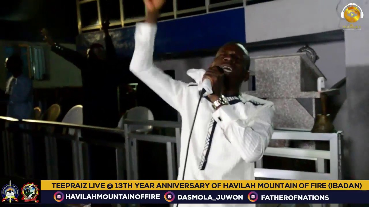 Download TEEPRAIZE LIVE AT HAVILAH MOUNTAIN OF FIRE (DADDY AND MUMMY OLUBORI)