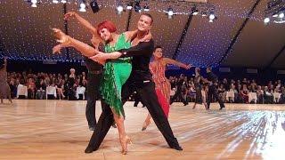 Justinas Duknauskas & Anna Melnikova - WDC World Championship Professional Latin 2014 - 1/4 Rumba