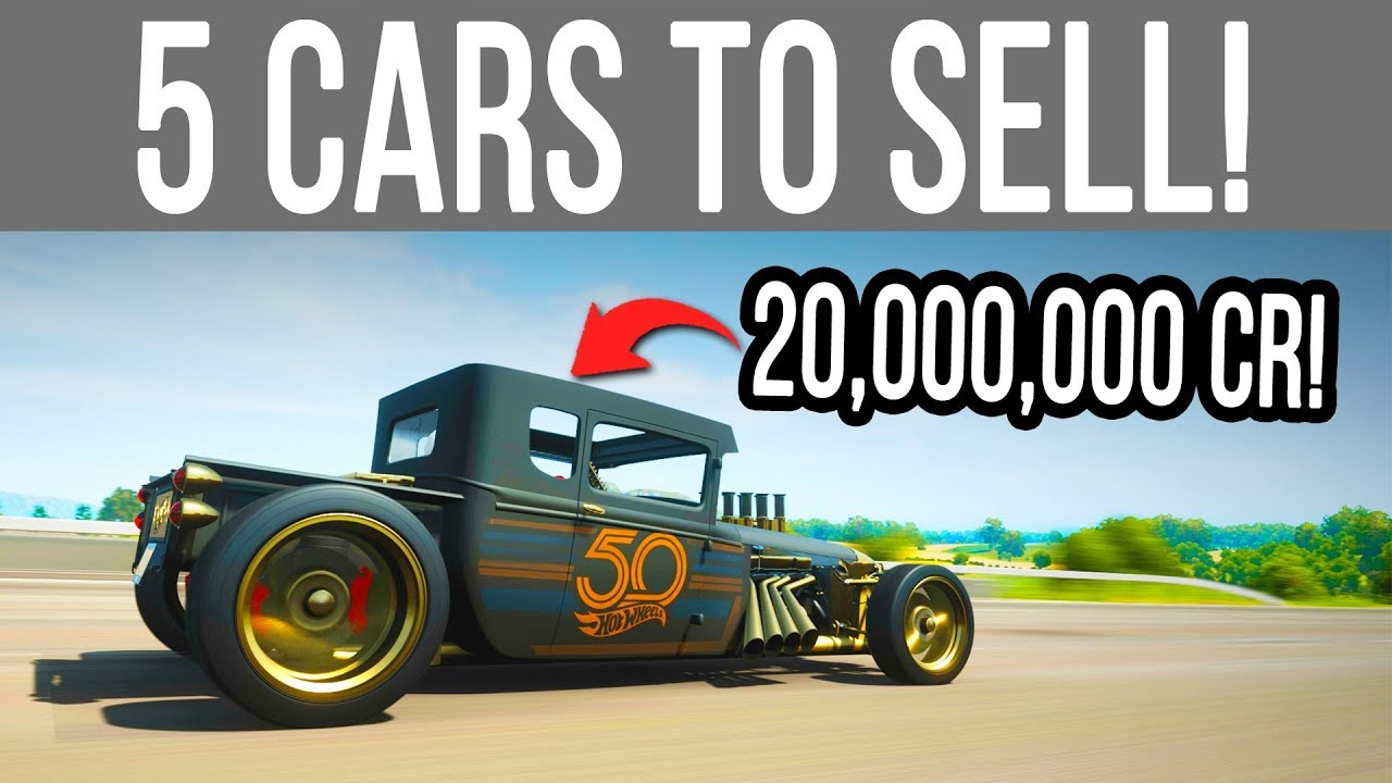 Forza Horizon 4 - 5 Rare Cars You Can SELL for 20 Million Credits!