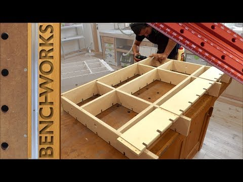 Making a multifunction shop cart MFSC part 1