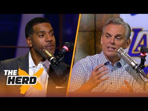 Jim Jackson on how technology made LeBron's career easier than Jordan's  NBA  THE HERD