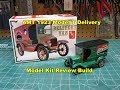AMT 1923 FORD MODEL T DELIVERY 1/25 MODEL KIT REVIEW BUILD AMT860