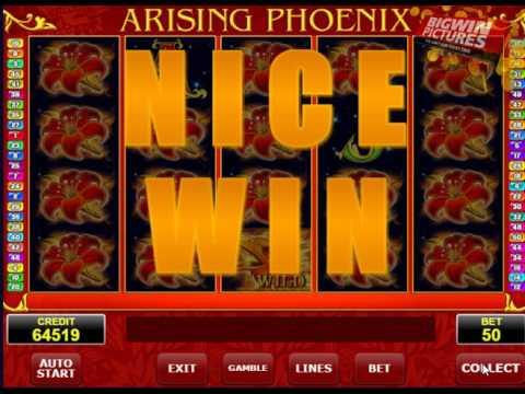 Arising Phoenix Slot - ReSpin Feature!