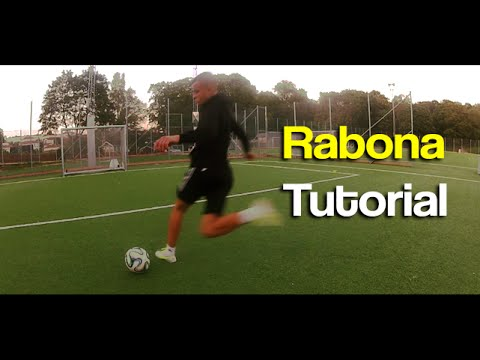 How To Do A Rabona Shot | Learn Football Tricks Tutorial