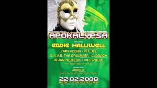 Dejan Milićević - Live @ Apokalypsa - Electronic Carnival, Brno, Czech Republic 22.02.2008.