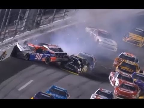 2018 Coca-Cola Firecracker 250 - Josh Williams Hard Crash - Call by MRN