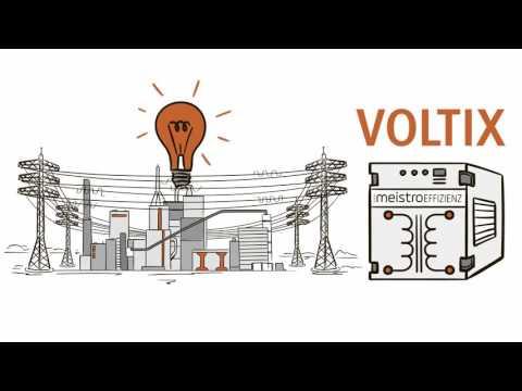 VOLTIX reduziert Stromverbrauch und Energiekosten
