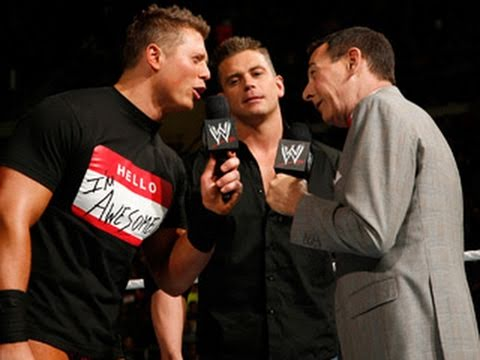 Raw: Pee-wee Herman gets confronted by The Miz