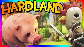 ADVENTURE AWAITS!!! | Hardland Episode 1 (Ploppy the Pig, Goblin King, Wizards)