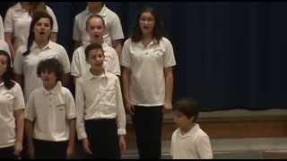 Catonsville Choir sings