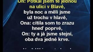 Slovenský klín - Chinaski, Bára Hosnedlová Karaoke tip