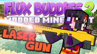 Minecraft Mods Flux Buddies 2.0 #64 - Laser Gun