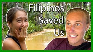 FILIPINOS SAVED US in Siargao Island! (Feat. Steve Yalo & Pema Travels)