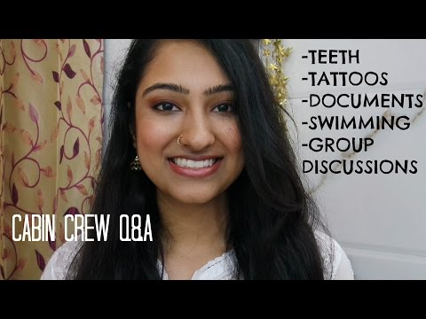 CABIN CREW Q&A - TEETH,TATTOOS & MORE!