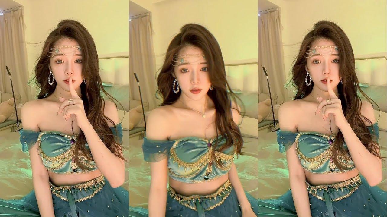 Douyin TikTok 2021  我猜你們會喜歡的綠色系列   抖音最美小姐姐   短視頻合輯top10   性感美女