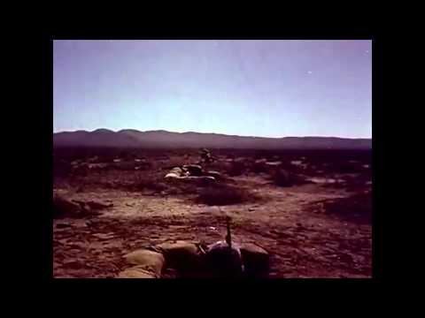 US Army Soldiers Observe Desert Rock Nuclear Tests 1951-1957