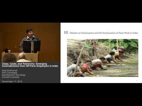 Amit Anshumali - Class, Caste & Patriarchy: Contradictions from Off-Farm Employment in India