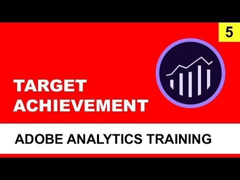 How to build Actual vs Target charts in Adobe Analytics. 5 Recipes for Analysis Workspace